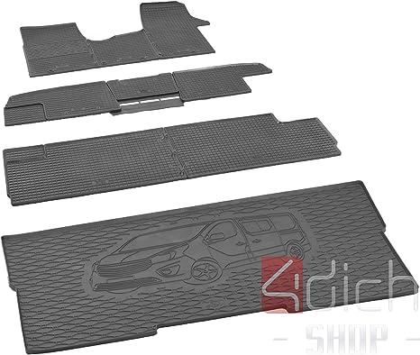 Passgenaue Kofferraumwanne Und Gummifußmatten Geeignet Für Opel Vivaro B Ab 2014 Bis 2019 L1 Autoschoner Monteur Auto