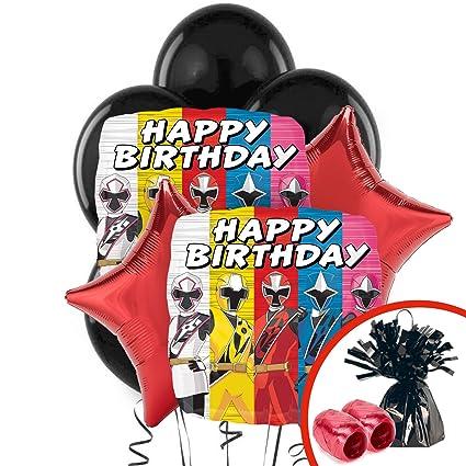 Amazon.com: BirthdayExpress Power Rangers Ninja Steel ...
