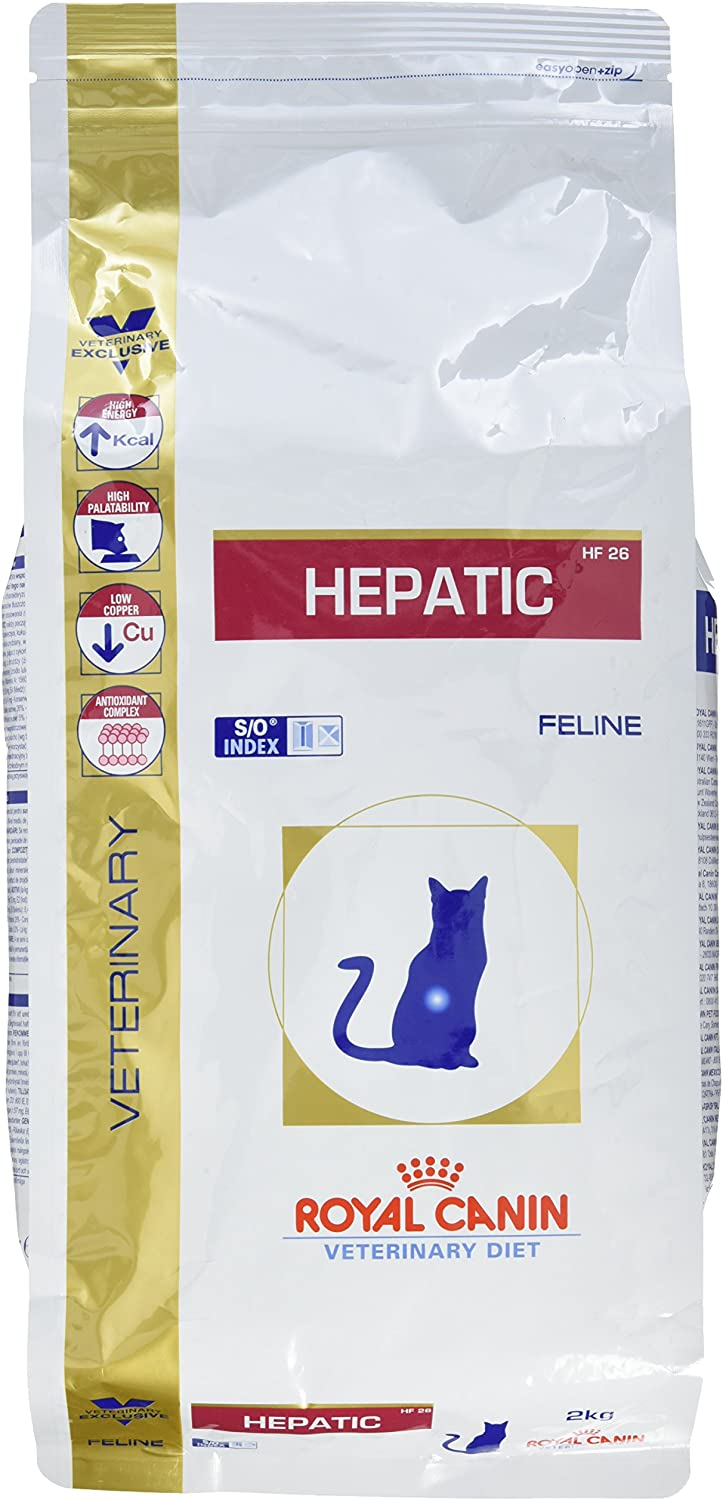 ROYAL CANIN Alimento para Gatos Hepatic HF26-2 kg