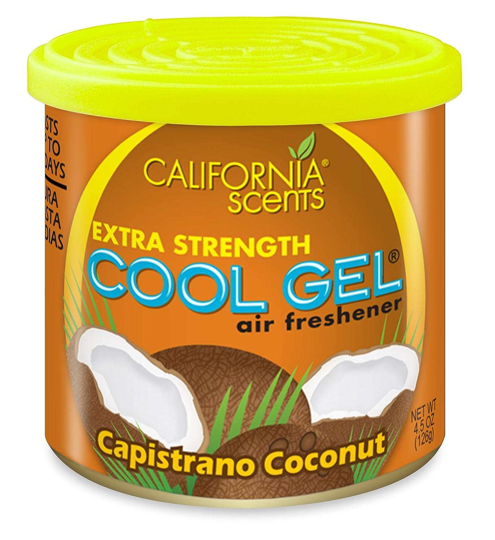 California Scents CG 4-1216 Deodorante per auto Capistrano cocco, confezione da 12 CG4-1216