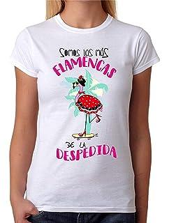 Camiseta Somos una Piña. Camiseta de Mujer para Feria, Fiestas, depedidas de Soltera, Bodas. Divertida: Amazon.es: Ropa y accesorios