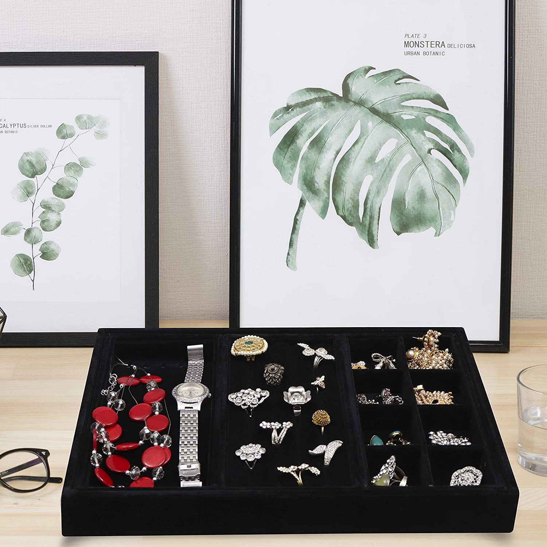 Vassoio di gioielli a forma di zebra di design a strisce creativo Vassoio di ciondoli in ceramica squisito 15cm Titolari di anello doro//nero Organizzatore Display Regalo di stoccaggio per fidanzata