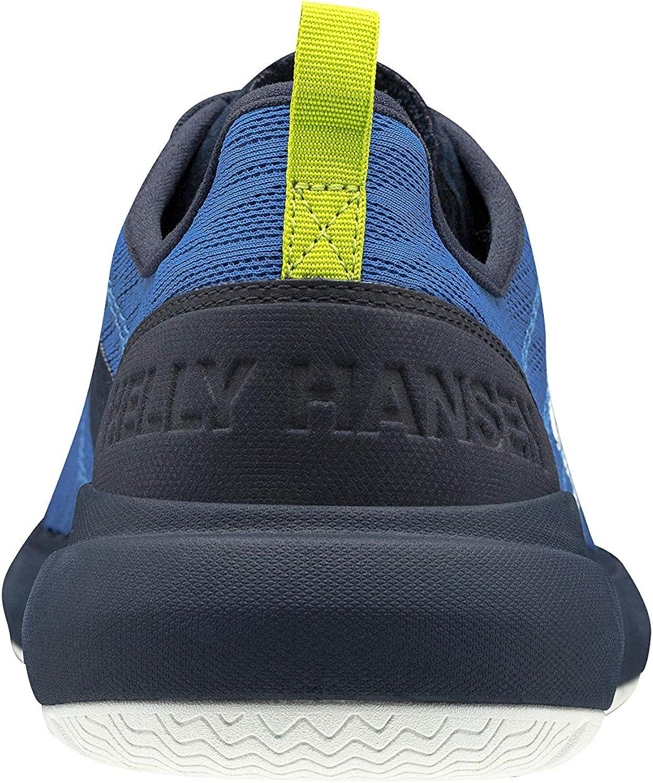 Hellyhansen Spindrift V2, Basket Homme Bleu Électrique Blanc Bleu