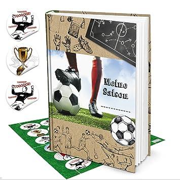 Geschenk Set Fussball Buch Geschenk Fussballer Jungen Meine Saison