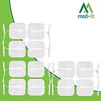 Med-Fit Almohadillas de electrodos autoadhesivos TENS / EMS.