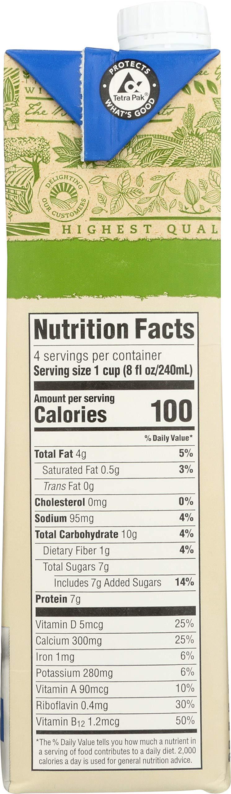 365 Everyday Value, Organic Soy Milk, Vanilla Flavor, 32 fl oz