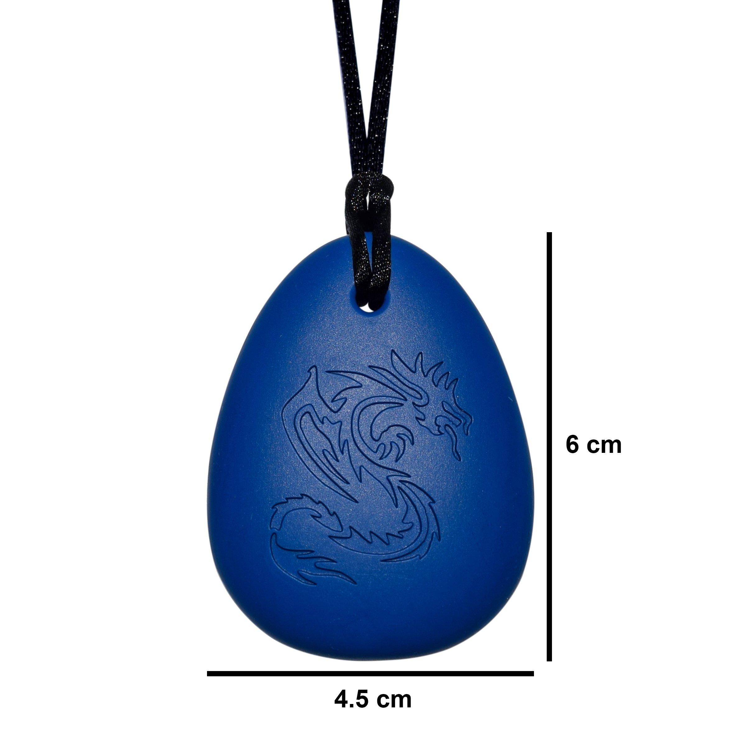 Dragon Sensory Chewelry - Munchables Chew Necklace (Red) by Munchables Chewelry (Image #3)