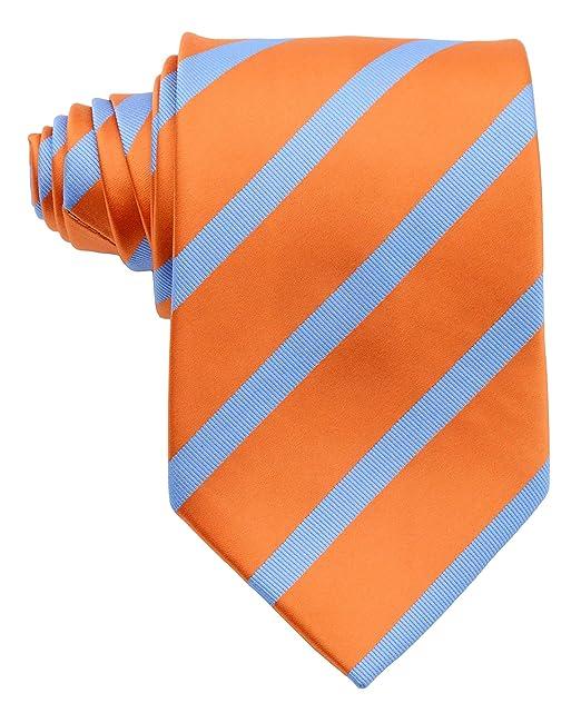 Pisces.goods, corbata de seda para hombre clásica a rayas ...