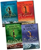 Simon Scarrow The Wellington and Napoleon Quartet 4 Books Collection Pack Set RRP: £31.96 (Young Bloods: Revolution 1769-1795, The Generals, Fire and Sword, The Fields of Death)
