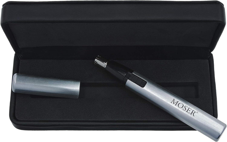 Moser 4900 Plata - Afeitadora (Plata, De plástico, Oído, Nariz ...