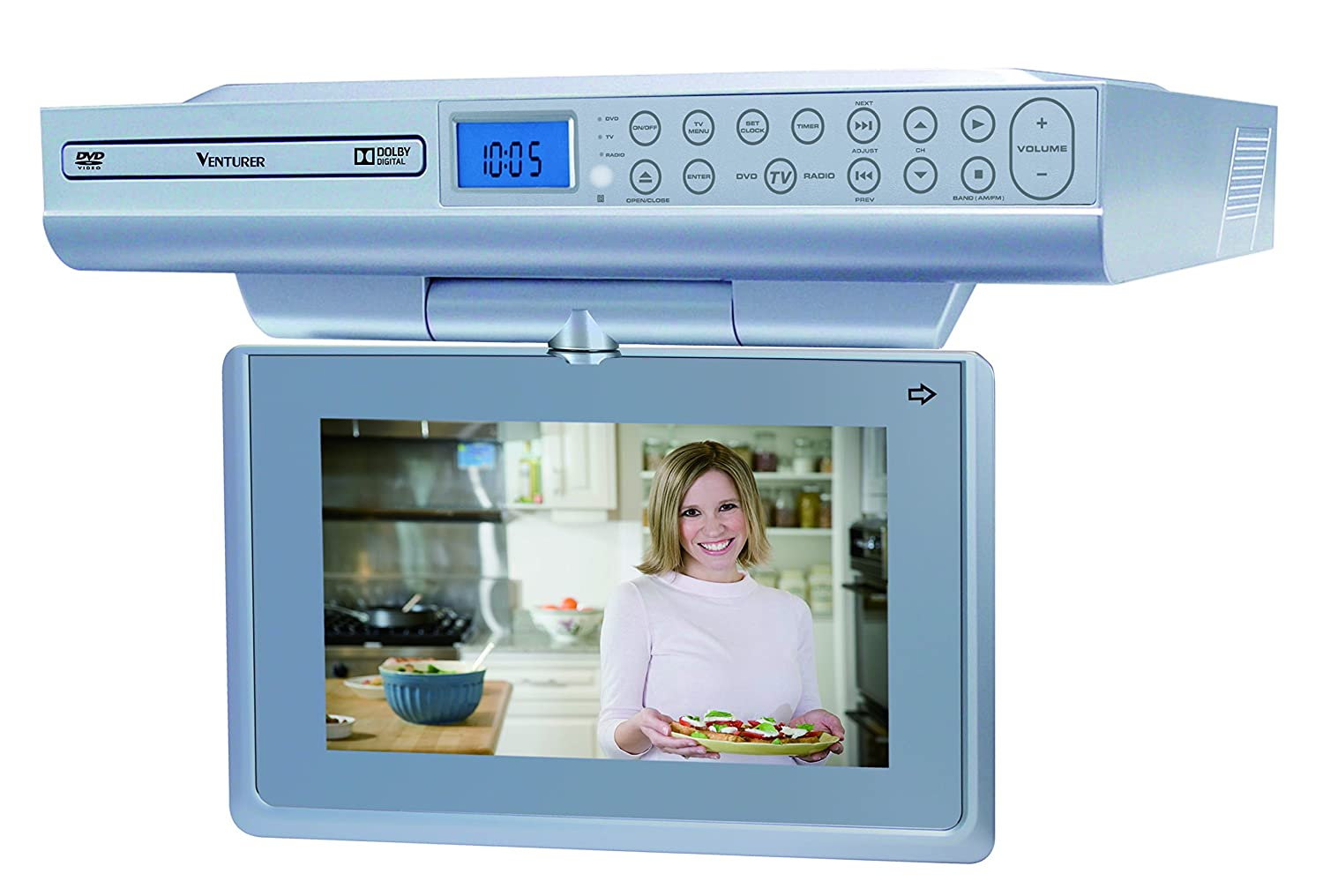 Amazon.com: Venturer 9 Under-Cabinet Lcd Tv/Dvd Combination \