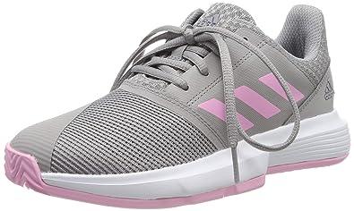 adidas Courtjam Xj, Zapatillas de Tenis Unisex Niños: Amazon.es ...
