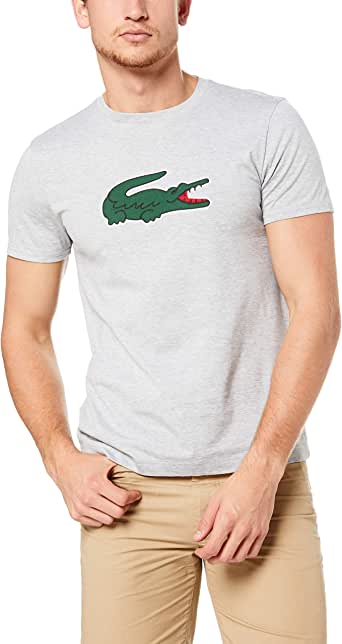 Lacoste Men's Big Croc Patch T-Shirt