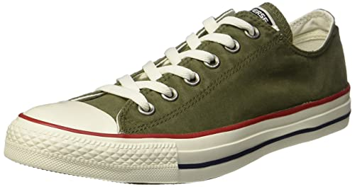 Converse Star II Sneaker Unisex Adulto Multicolore Vintage Khaki/Olive