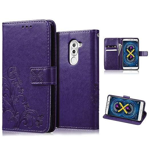 5 opinioni per Huawei Honor 6x Custodia, echoTREE Fortunato Fiore per Cover Honor 6x, PU