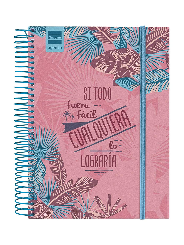 Finocam - Agenda 2019-2020 1 día página español Prints Palm