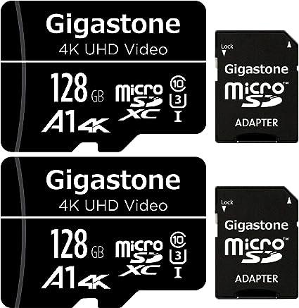 Gigastone Tarjeta de memòria Micro SDXC de 128GB con Adaptador SD ...