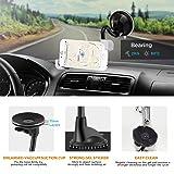 IPOW Car Phone Mount, Diagonal Clamp Full-View