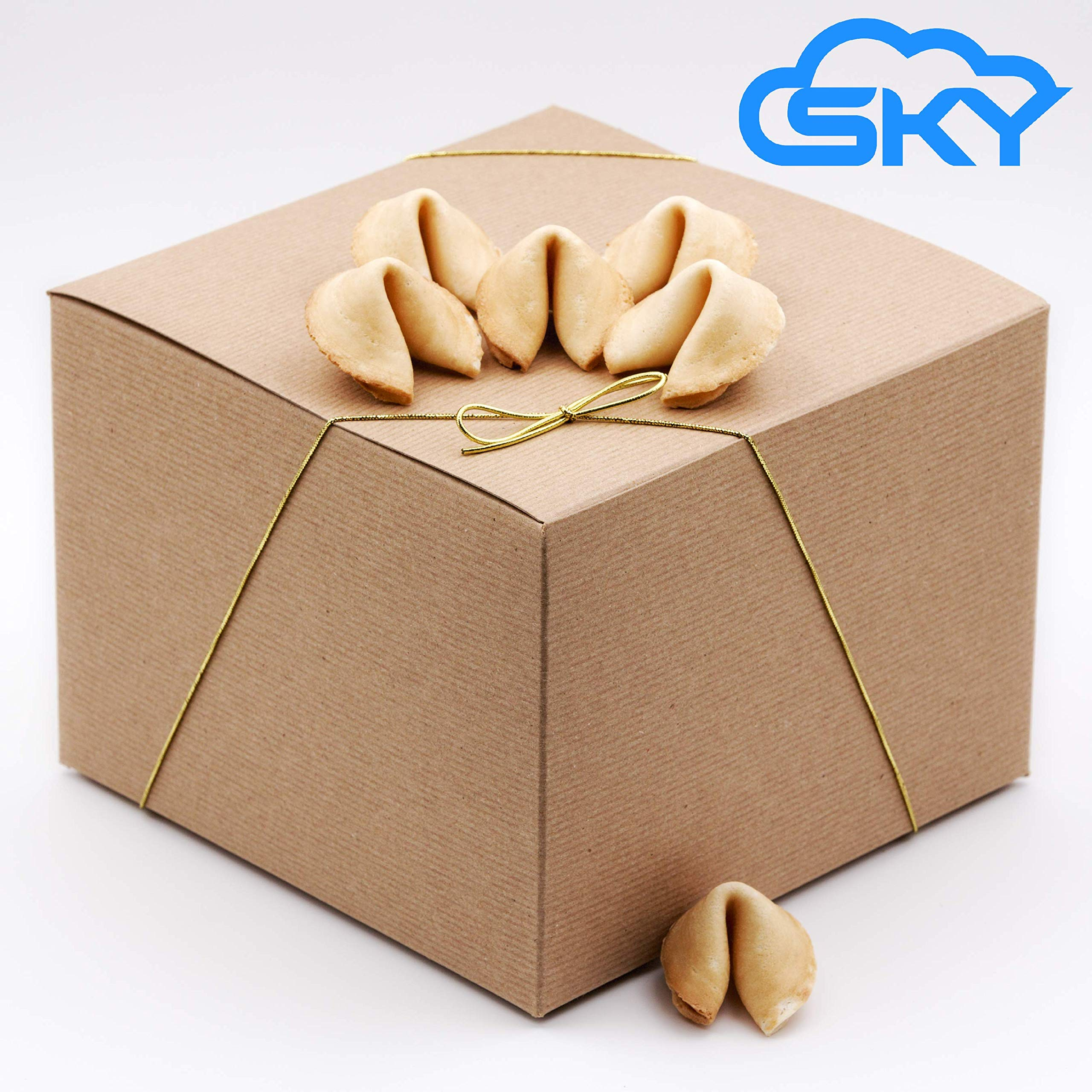 Sky Homemade Super Giant Fortune Cookie Gift Box, Fresh and Crunchy, Cookie within Cookie, Perfect for Gifts, Birthday, Parties, Graduation, New Job, Christmas, Thanksgiving by Sky Ecommerce (Image #5)