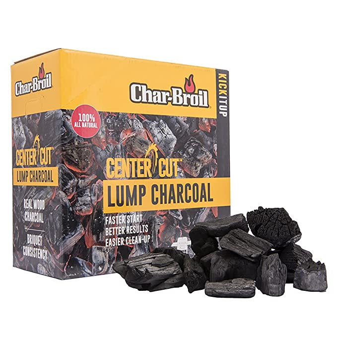 Char-Broil Center Cut Lump Charcoal – Best For Cooking On A Rotisserie