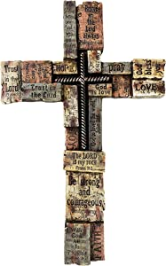 Urbalabs Bible Verses Religious Faith Hope Love Wall Decor 17 Christian Wall Cross Decor Marriage Gifts Scripture Inspirational Quotes Wall Art Crossword Biblical Gifts