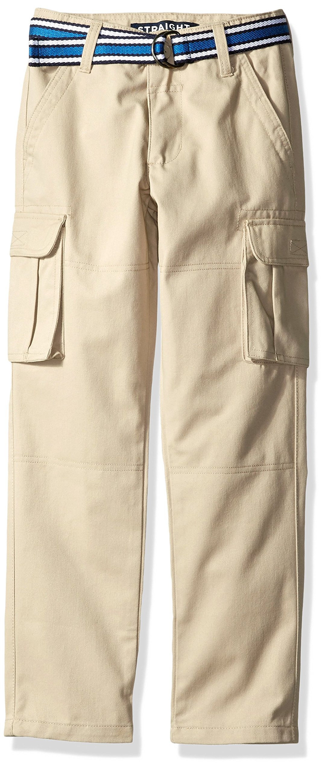 French Toast Little Boys' Cargo Pant, Khaki, 4