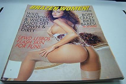 Brazen Women Busty Adult Magazine Boff Crazy Biker Babes In Action Quot