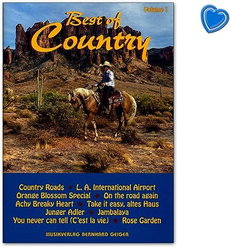Best of Country Band 1 - Libro de canciones para cantar, piano ...