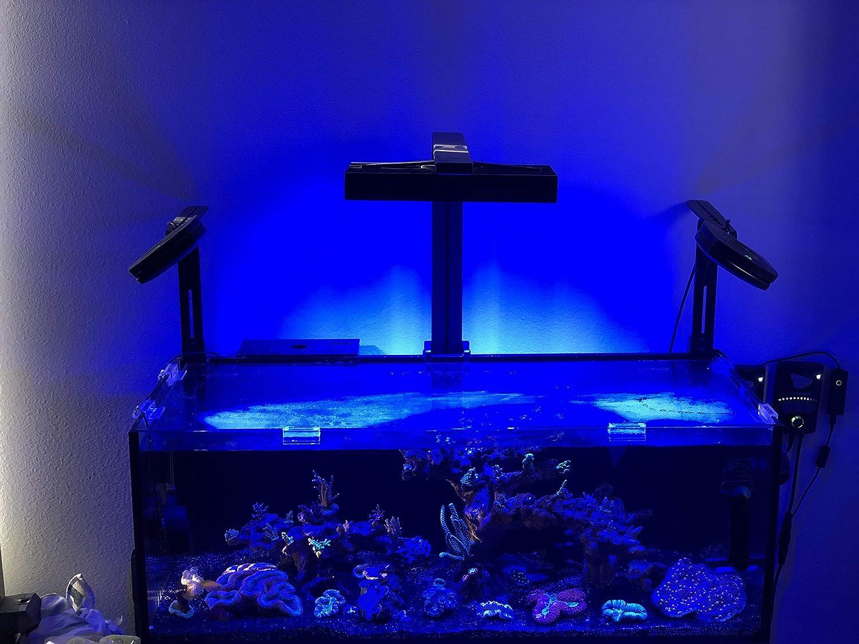 AquaIllumination Hydra FiftyTwo +HD LED Light, Black, 11.875  x 5.375  x 1.6