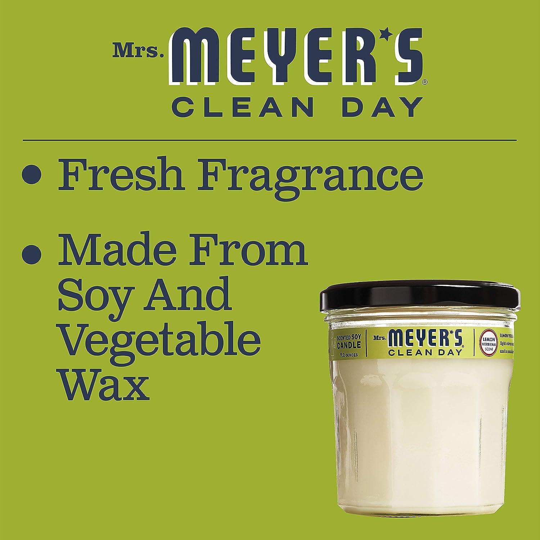 Meyers Soy Candle Mrs Lemon Verbena 7.2 oz Candle