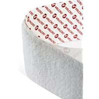 VELCRO® Brand Hook and Loop Zelfklevende Sticky Back Tape Fastener in 1CM Breed in Wit (Priced en Verkocht per meter…