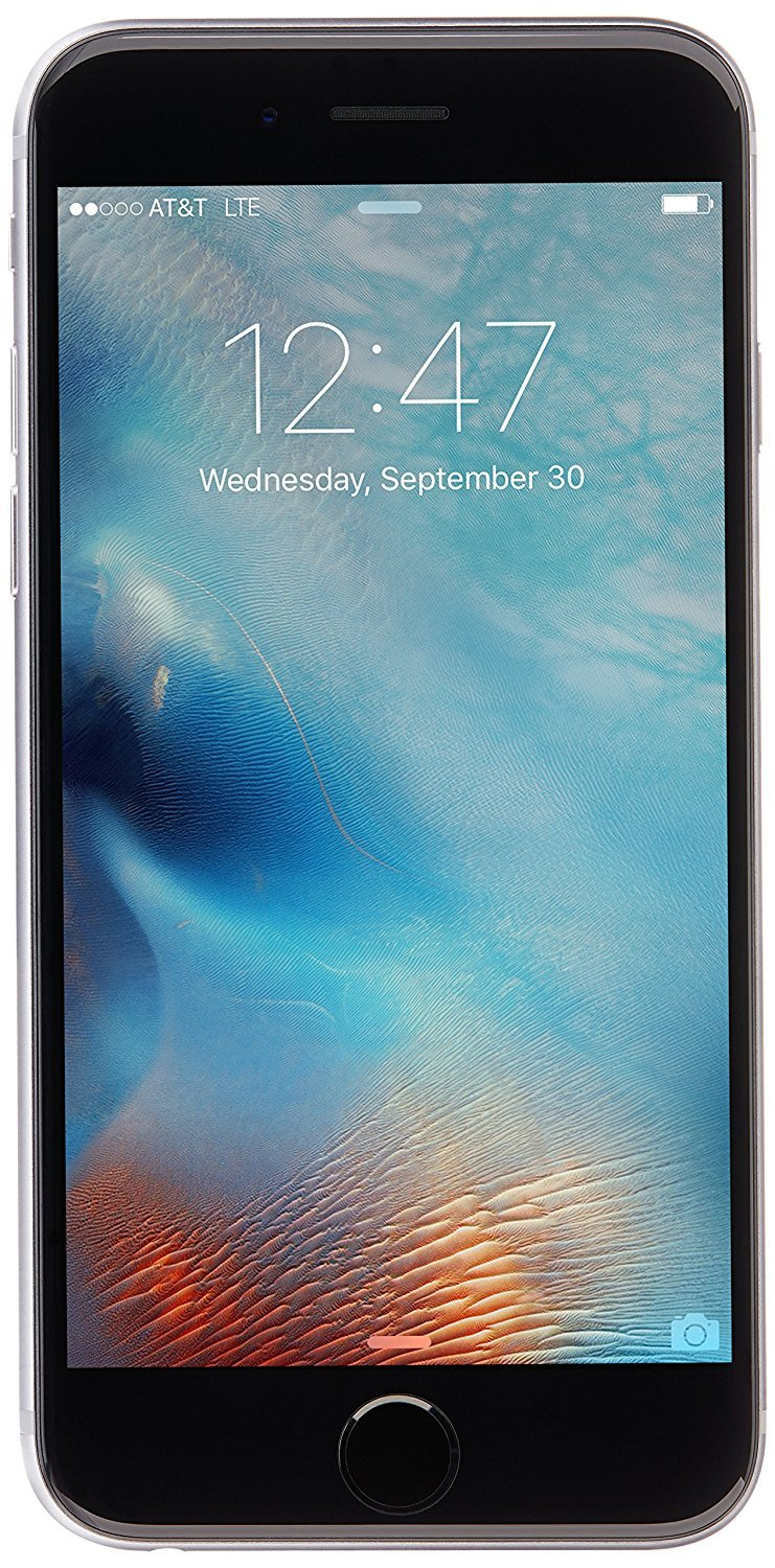 Apple iPhone 6S, AT&T, 64GB - Space Gray (Renewed) by Apple