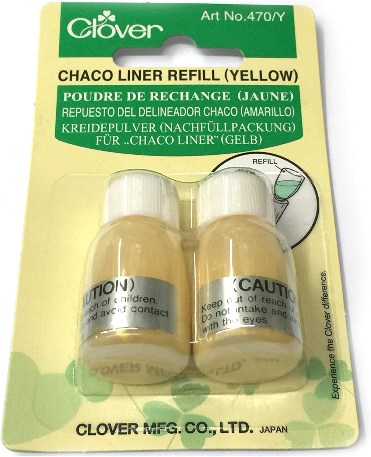 Clover Chaco Liner-Yellow