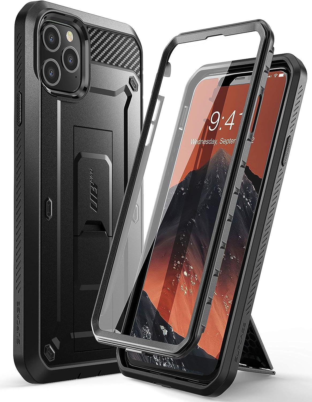 SUPCASE Coque iPhone 11 Pro Max, Coque Intégrale de Protection Robuste Anti-Choc avec Protecteur d'écran Intégré et Clip de Ceinture [Unicorn Beetle ...