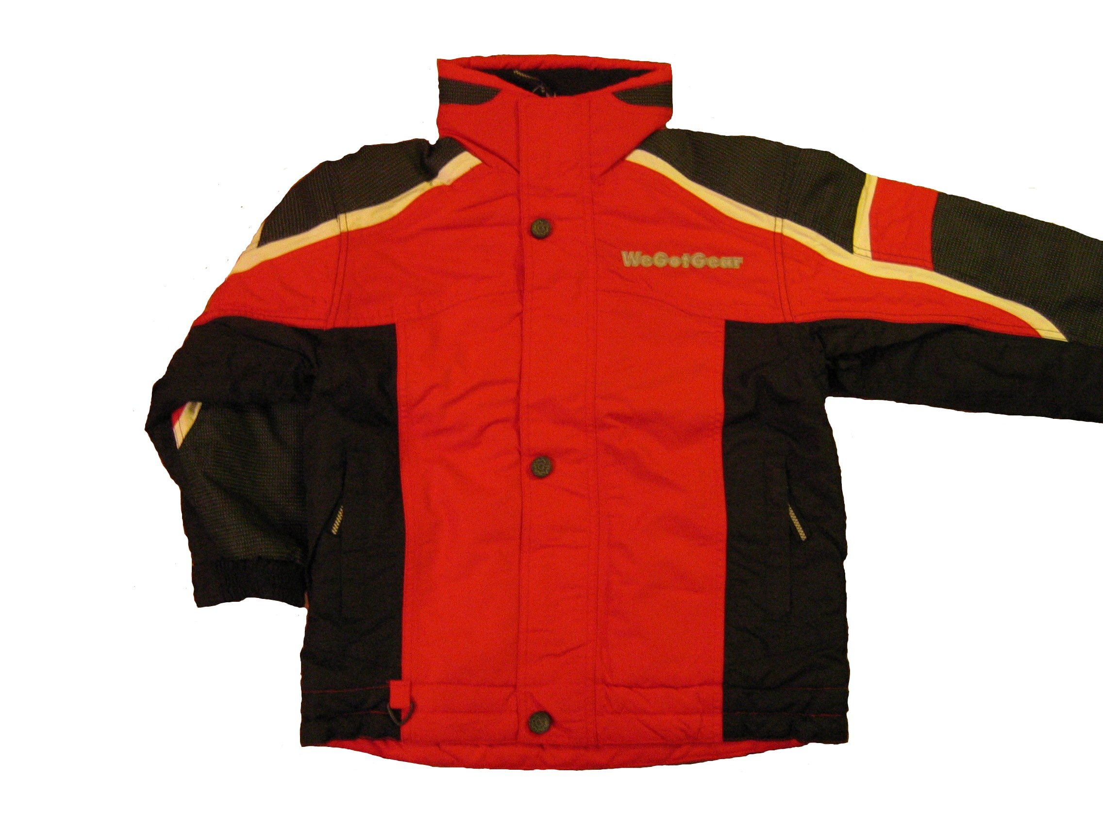 Youth Reflective Mt. Rainer Jacket Small Red