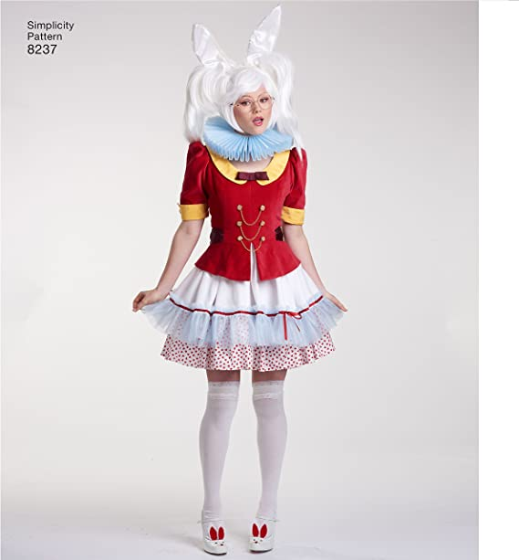 Simplicity 8237 - Patrón de Costura para Disfraz de Alicia en el ...