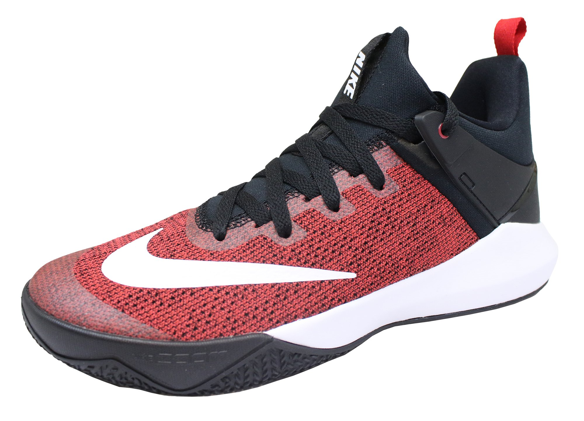 buy popular d84f2 26f00 Galleon - Nike Women s Zoom Shift Basketball Shoe University Red White Black  Size 9 M US
