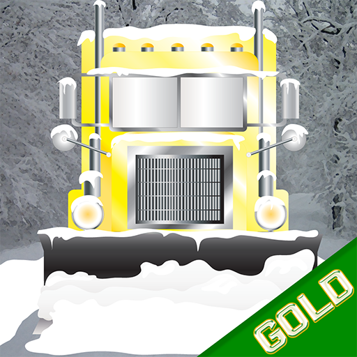 Snow Plow Town Racing : The City Cold Winter Street Kings - Gold Edition