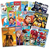 16 Bulk Coloring Books for Kids Ages 4-8 - Assortment Includes 16 Kids Coloring and Activity Books with Games, Puzzles, Mazes