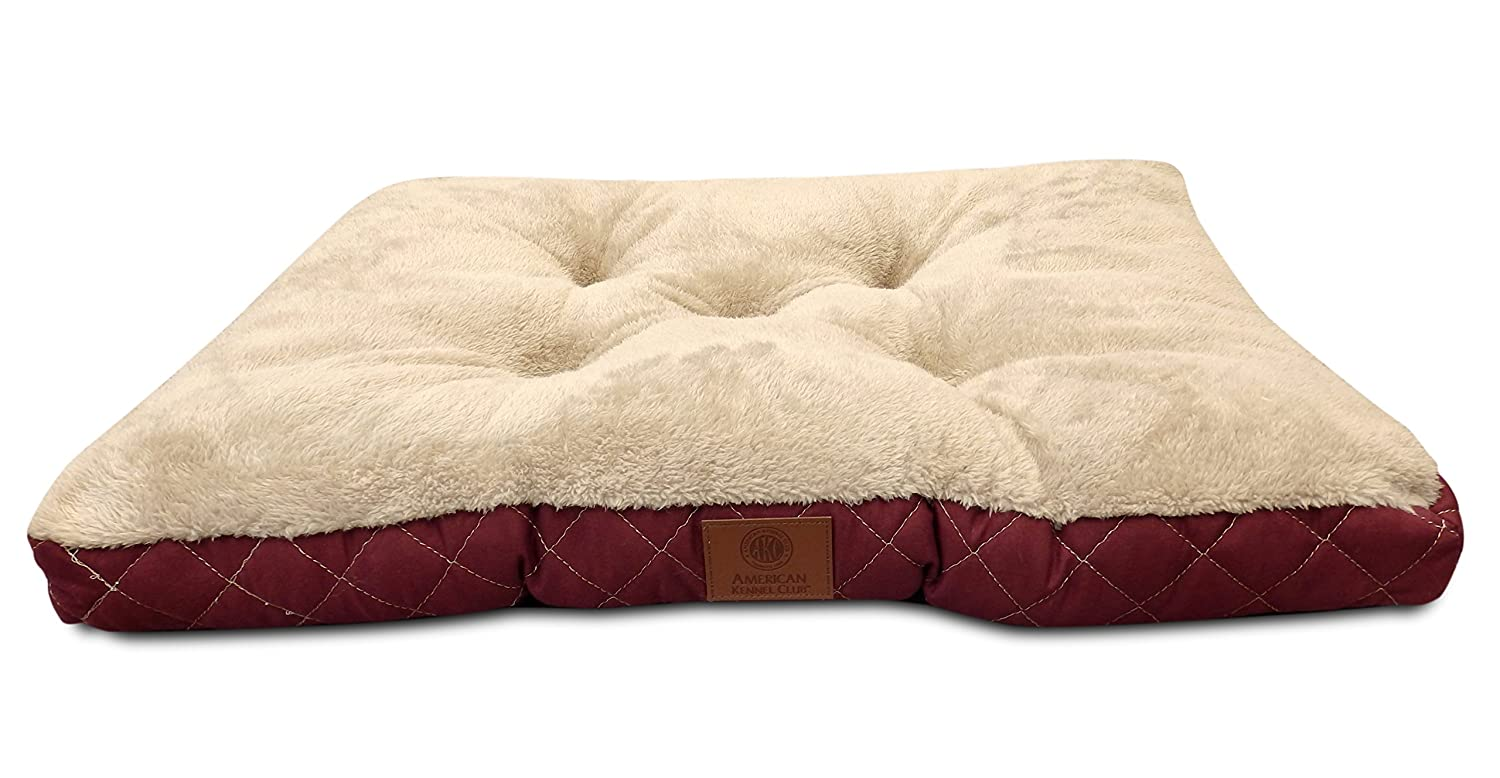 AKC Deluxe Plush Quilted Crate Mat