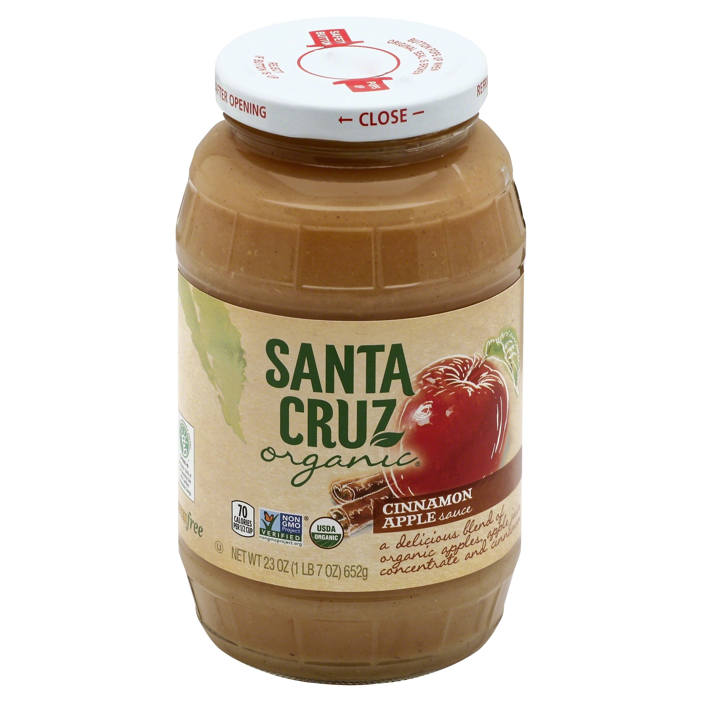 Santa Cruz Organic Apple-Cinnamon Sauce, 23 oz