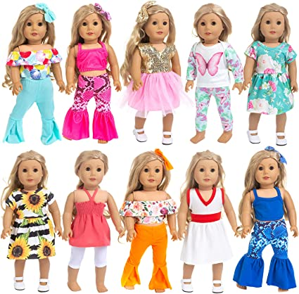 Lovely Doll Dress Up Straw Hat 18 inch American Doll Casual Wear Accessory