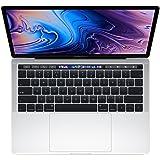 【2018新款】Apple 苹果 MacBook Pro 13英寸笔记本电脑 四核第八代Core i5处理器2.3GHz/8G/256G SSD/MR9U2CH/A 银色 苹果电脑 Multi-Touch Bar 套装版【内含罗技无线蓝牙鼠标+Chirslain清洁套装】