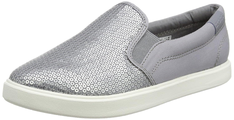 Crocs Women's Citilane Sequin Slip-On W Flat B01H7354YO 10 M US|Silver