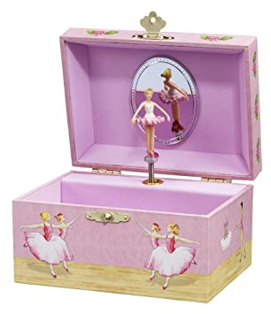 Amazoncom Enchantmints Ballerinas Musical Jewelry Box Toys Games
