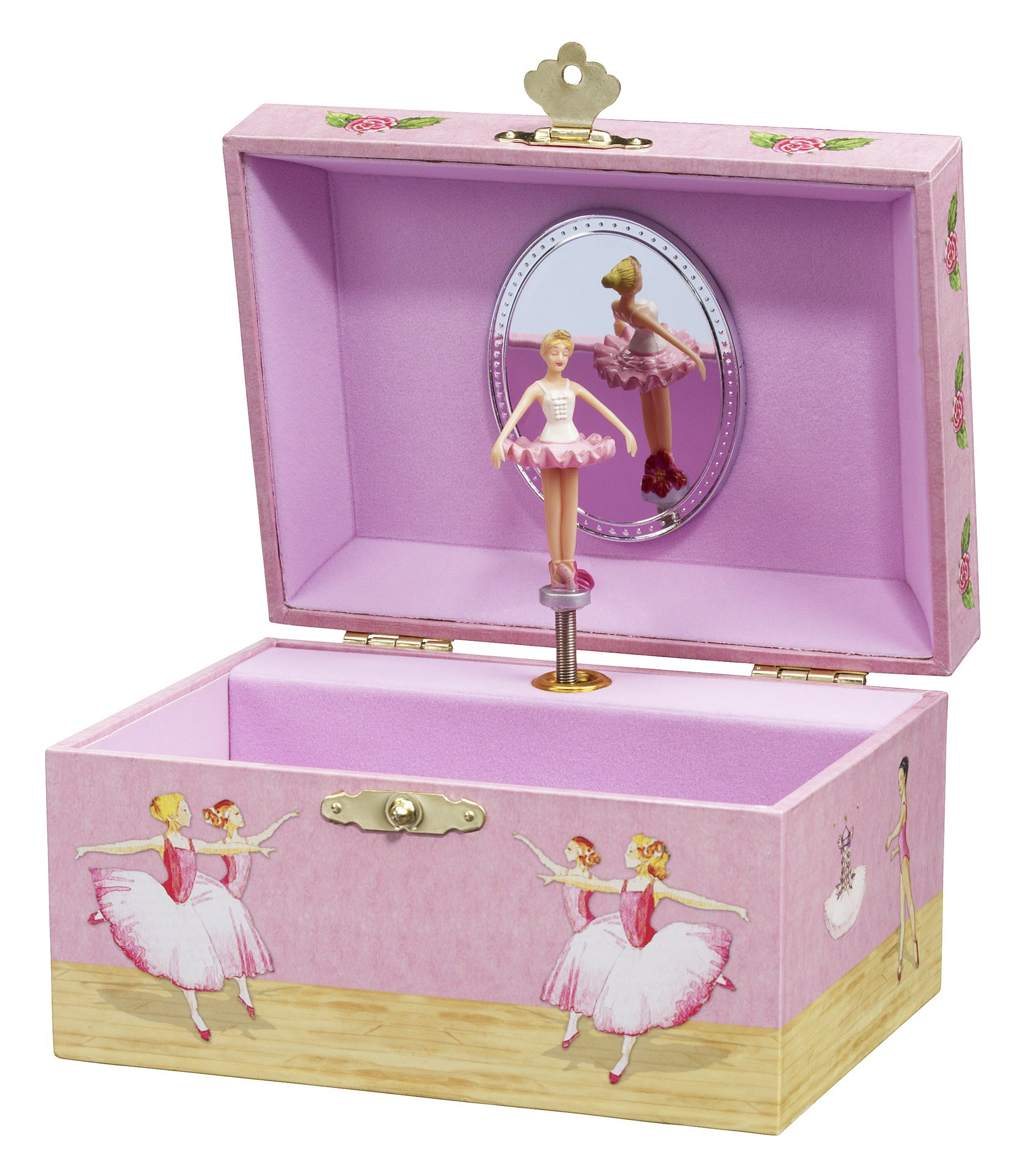 Enchantmints Ballerinas Musical Jewelry Box