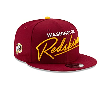 fbb411dad Image Unavailable. Image not available for. Color: New Era Washington  Redskins Script Turn Snapback 9FIFTY Adjustable NFL Hat