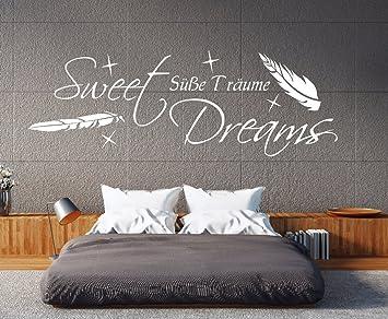 W-pk111 Wandtattoo Schlafzimmer Wandtattoo Sweet Dreams Wandtatoo ...