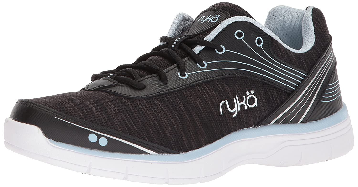 Ryka Women's Destiny Cross Trainer B075MK12L1 5.5 B(M) US|Black/Silver