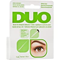 Ardell Duo Brush on Adhesive with Vitamins, Wimpernkleber für künstliche Wimpern mit Vitamin A, C & E, das Original für perfekte lashes, 5g (1x)